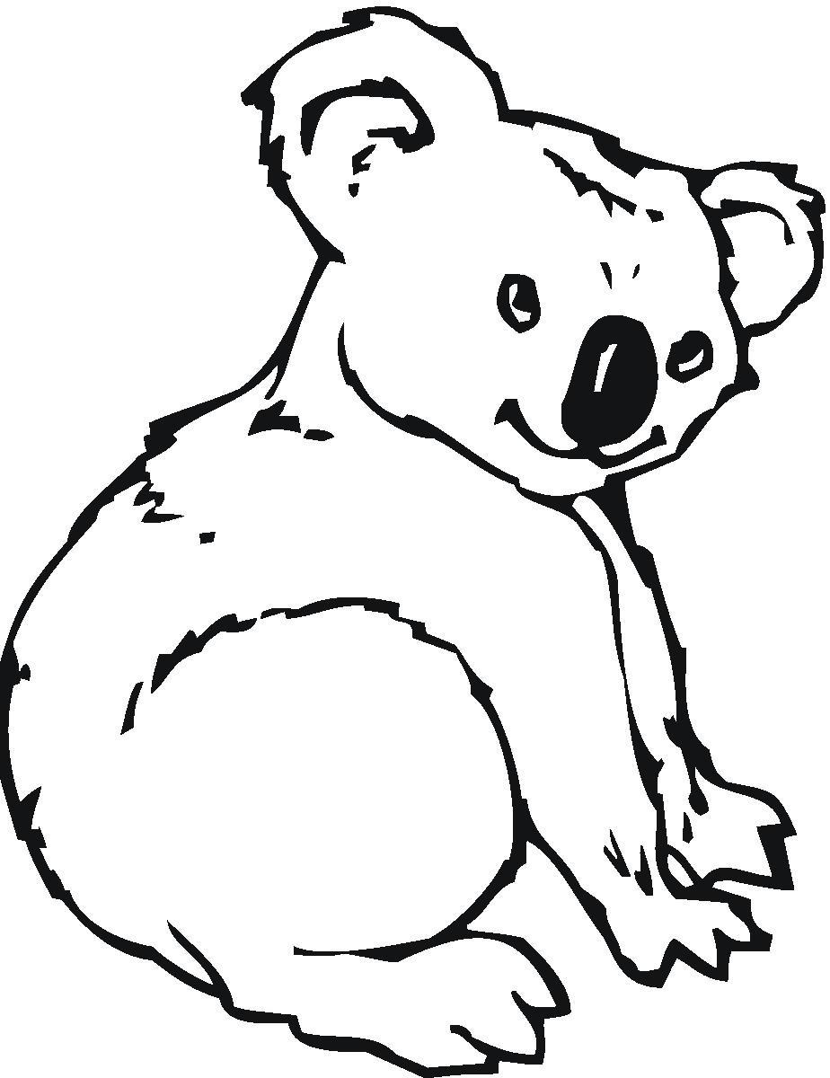 924x1200 Koala Bear Clip Art