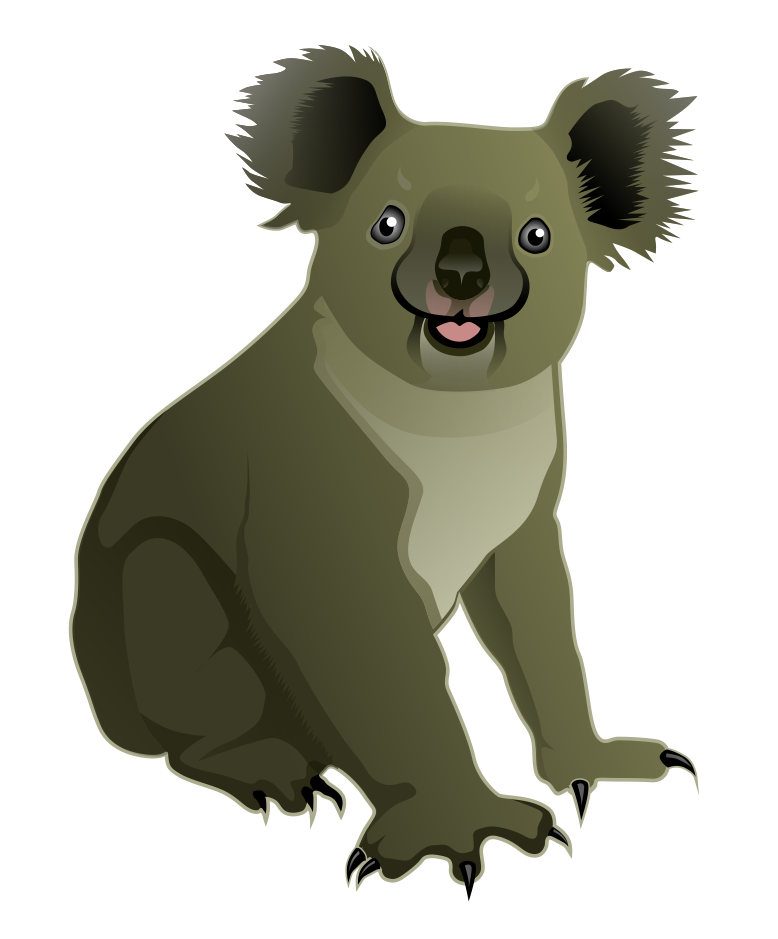 778x939 Clip Art Koala Bear Clipart