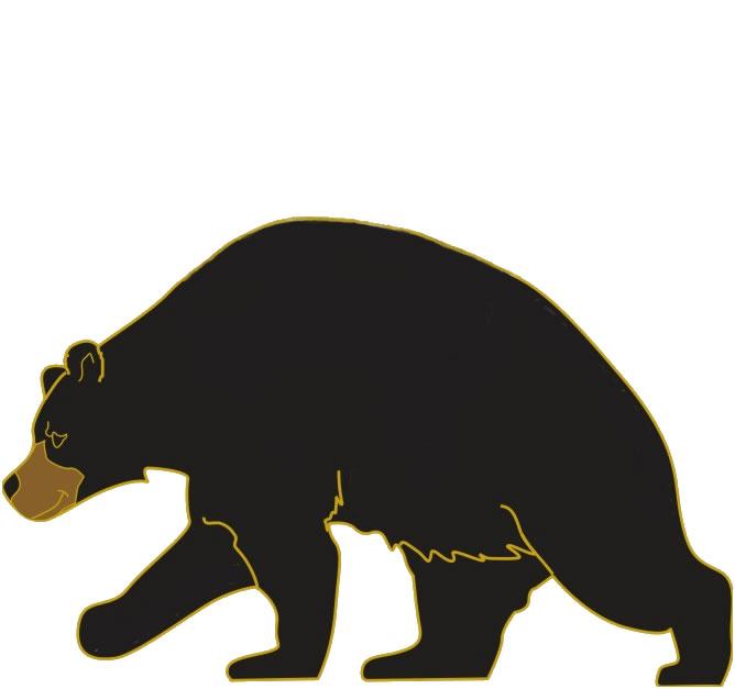 668x627 Black Bear Clip Art Search