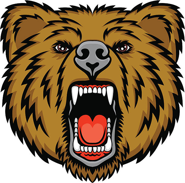 612x605 Grizzly Clipart Mean Bear