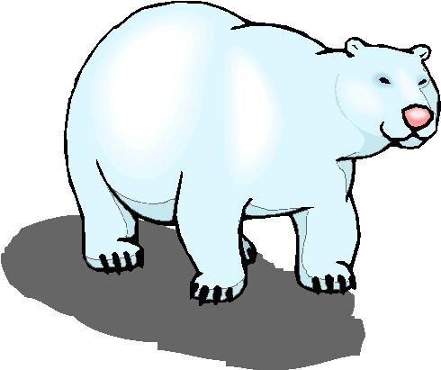490x411 Polar Bear Clip Art For Kids Clipart Panda