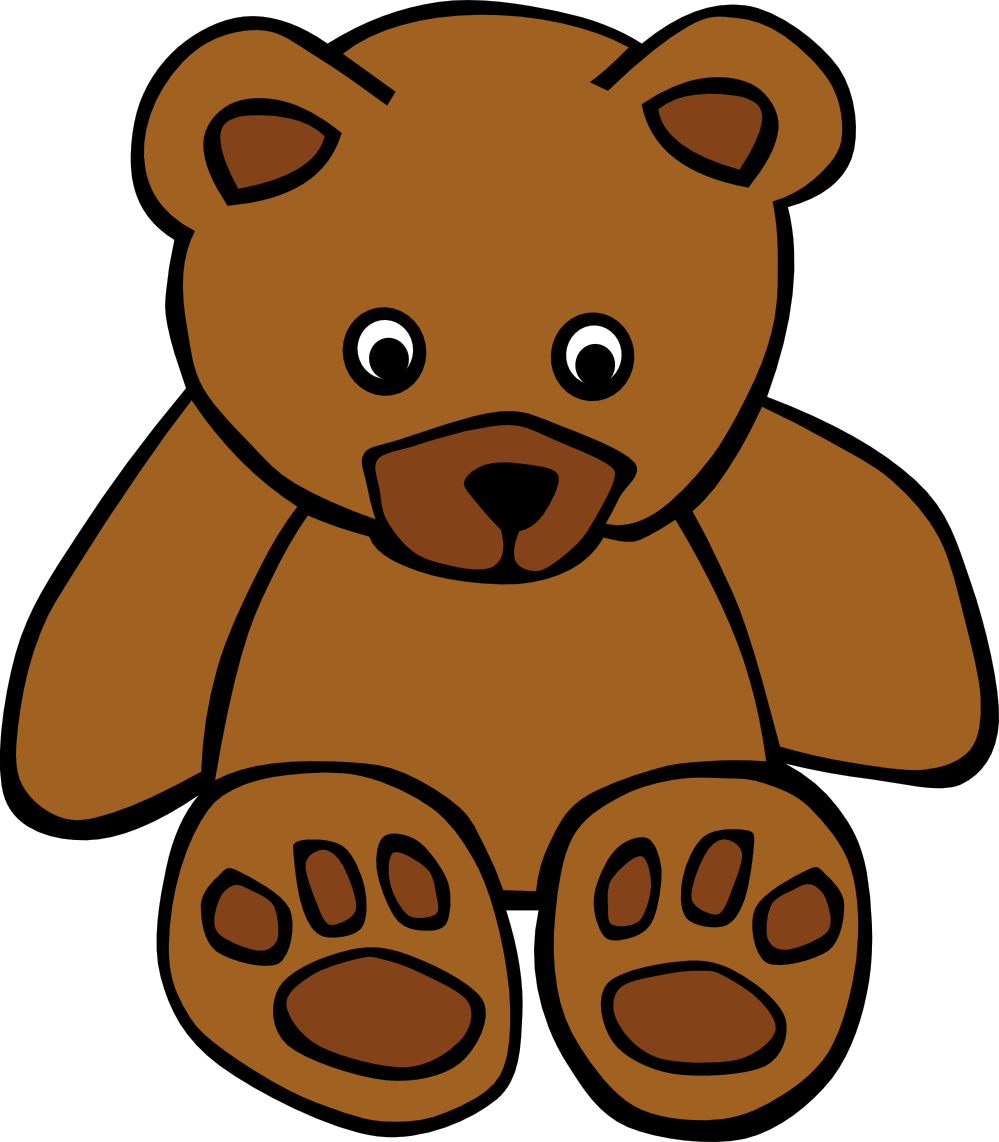 999x1142 Teddy Bear Clipart Free Clipart Images