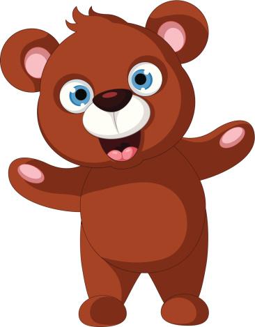 366x469 Bear Cub clipart