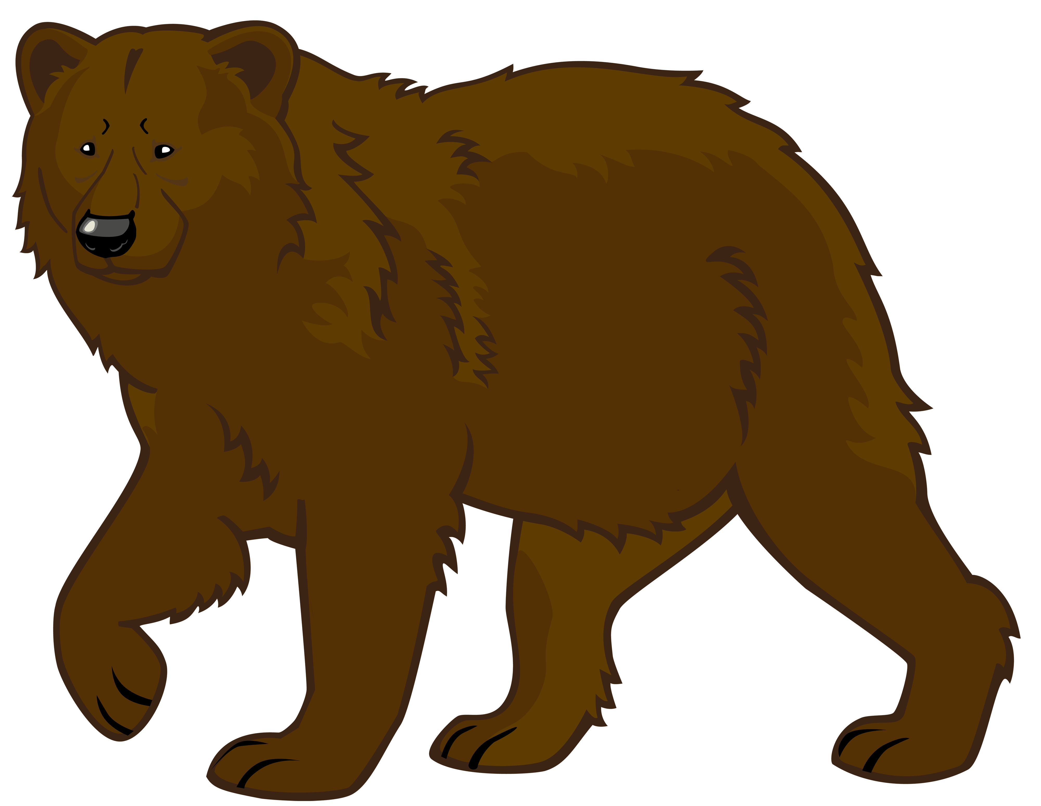4000x3097 Bear Cub Clipart Big Animal