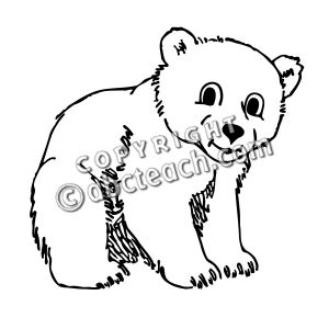 300x300 Bear Cub Clipart Snow Bear