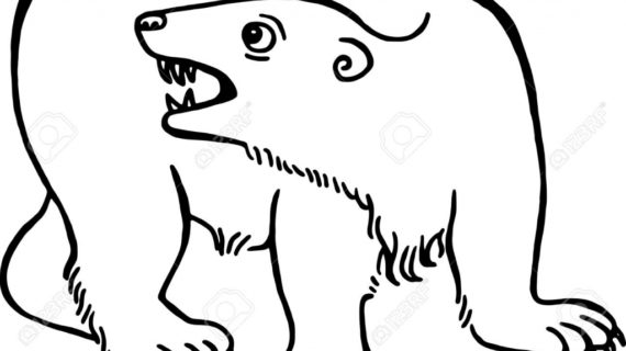 570x320 Simple Bear Drawing Drawing Of A Bear Clipart Best