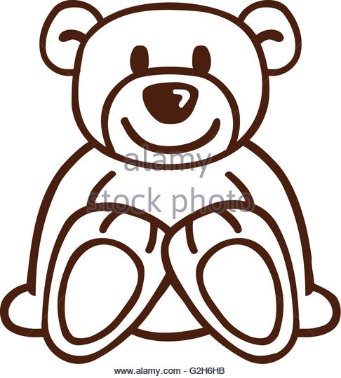 486x540 Bear Drawing Stock Photos Amp Bear Drawing Stock Images