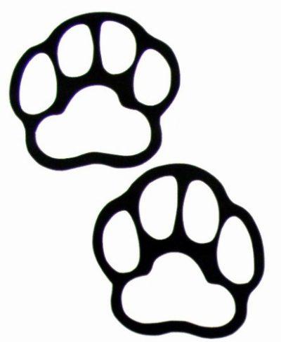 400x487 Bobcat Clipart Bear Paw