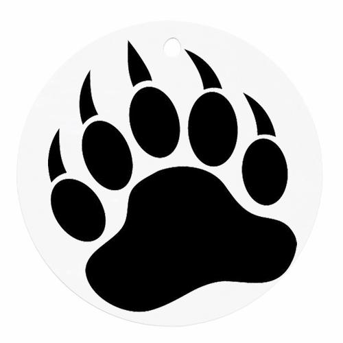 500x500 Bear Paw Face Painting Bear Paws, Bear Paw Tattoos