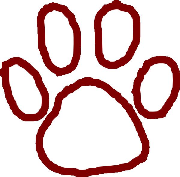 600x592 Bear Paw Clip Art