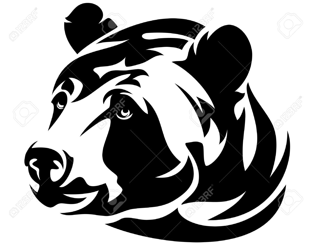 1300x1028 Beast Clipart Bear Attack