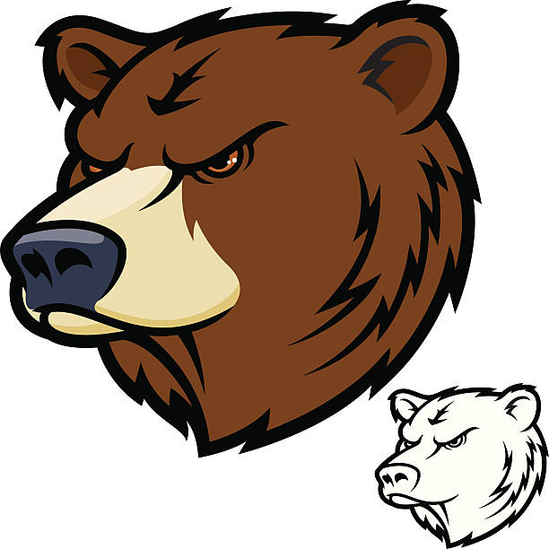 612x612 Brown Bear Clipart Mean