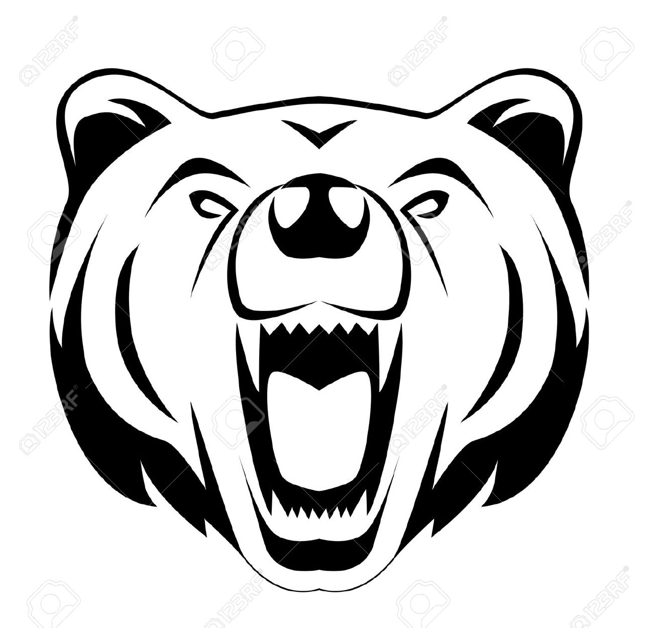 1300x1250 Grizzly Clipart