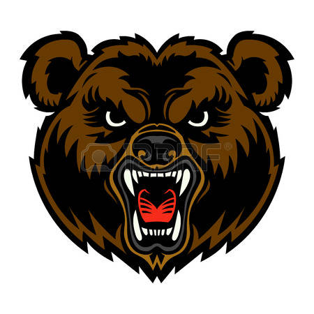 450x450 Head Clipart Grizzly Bear
