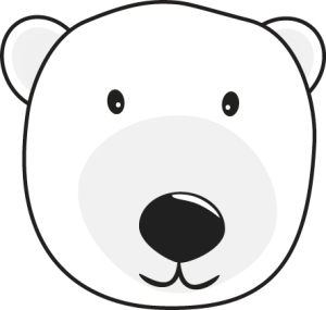 300x285 Head Clipart Polar Bear
