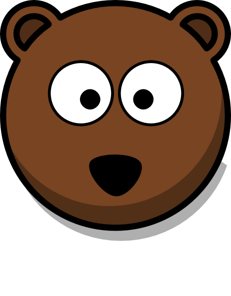 462x592 Teddy Head Cliparts