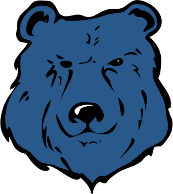 600x674 Bear Head Clip Art