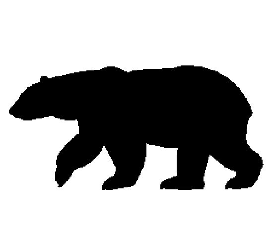 550x464 Graphics For Bear Silhouette Graphics
