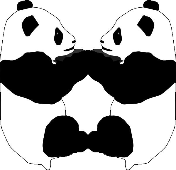 600x579 Panda Bear Clip Art