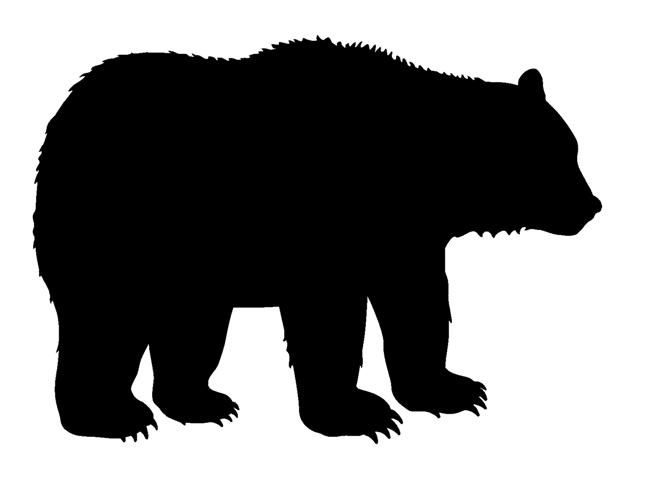 647x480 Bear Silhouette Clip Art Many Interesting Cliparts