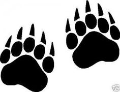 236x181 Bearcat Paw Clip Art Bear Paw Tracks Free Cliparts That You Can