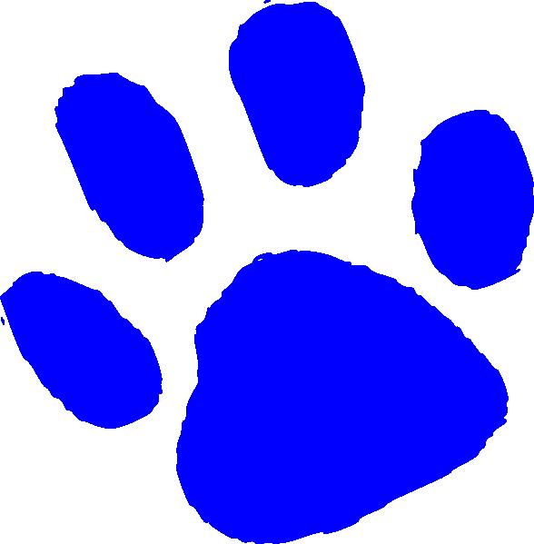 588x599 Bear Paw Small Clip Art