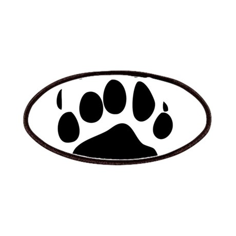 460x460 Bear Paw Patches Iron On Bear Paw Patches