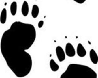 340x270 Bear Paw Print Etsy