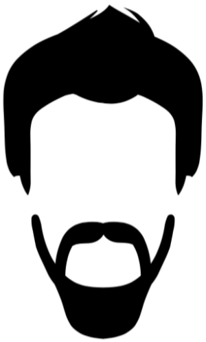 Beard face. Clipart free download best