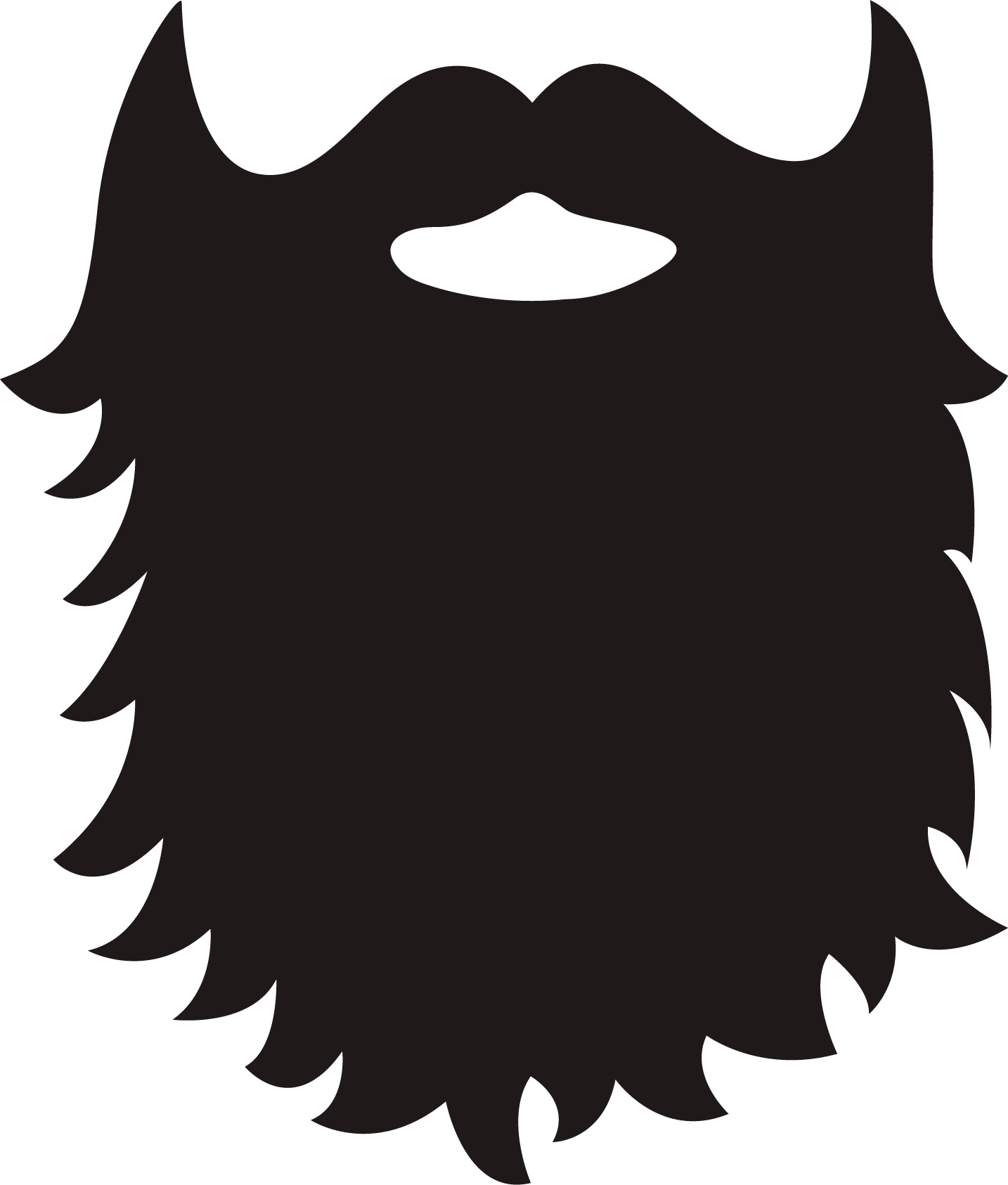 Beard real. Clipart free download best
