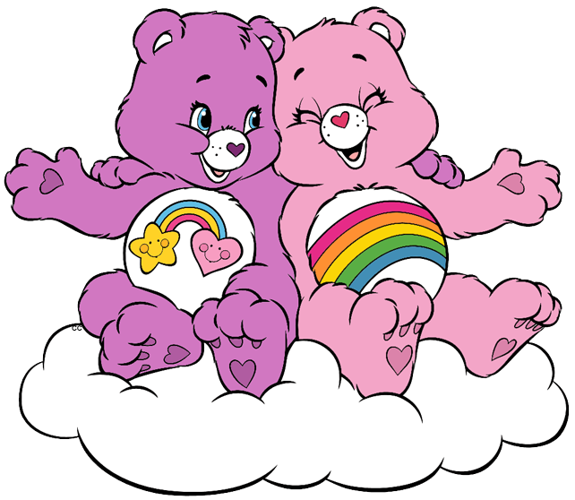 642x558 Care Bears And Cousins Clip Art Images