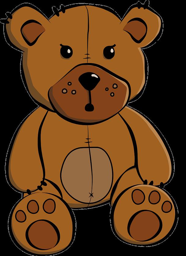 609x837 Teddy Bear Free To Use Clip Art