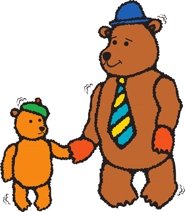 626x720 Bear Clipart Dad