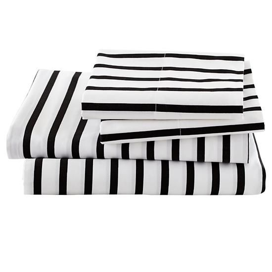 550x550 19 Best Black And White Striped Sheets Images