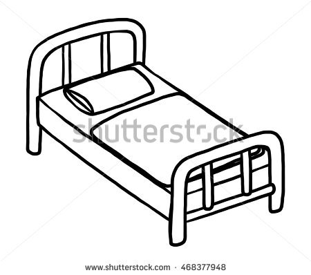 Bed Black And White Free Best