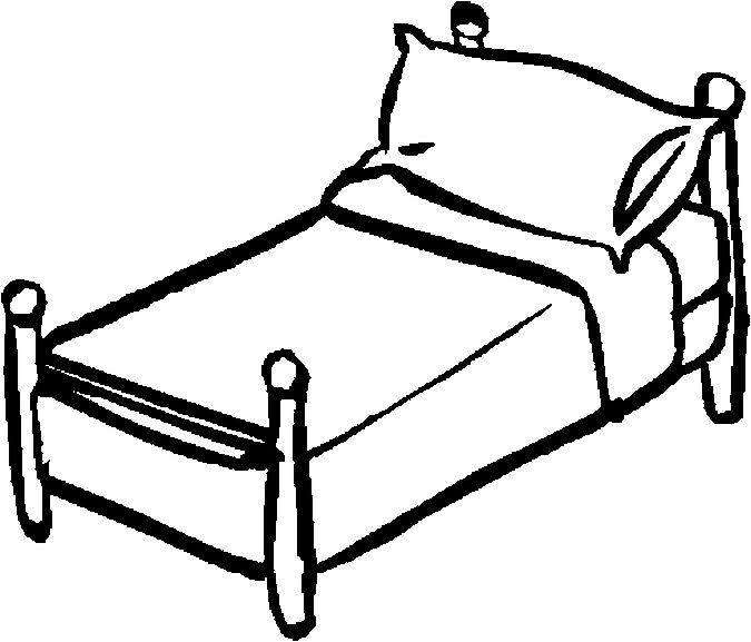 675x577 Clipart Black And White Shoe Under Bed