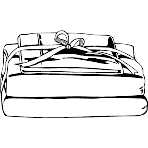 300x300 Bed Clipart Bedding