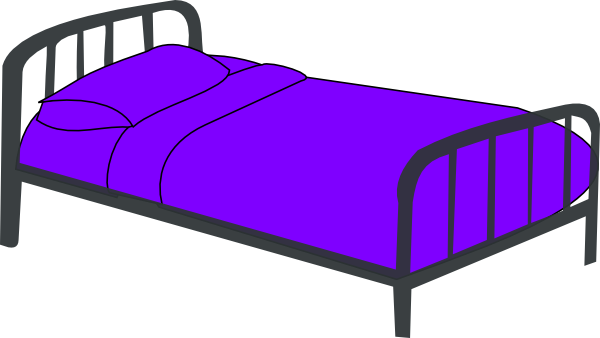 600x338 Bed Clip Art Black And White Free Clipart Images