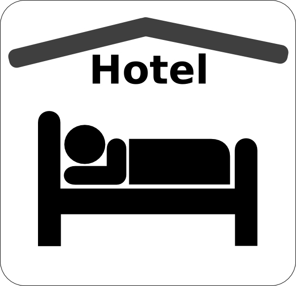 600x580 Bed Clipart Hotel Bed
