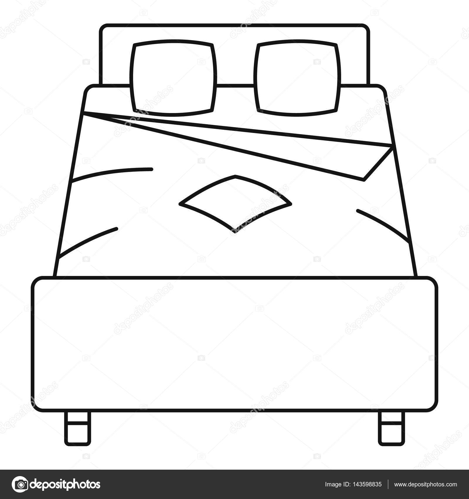 1600x1700 Bed Clipart Double Bed