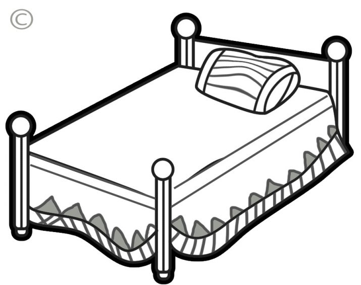 715x564 Bedroom Attractive Bed Clipart Bed Clip Art Clipart Free Clipart