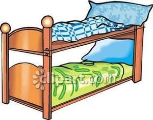 300x236 Bedroom Clipart Bunk Bed