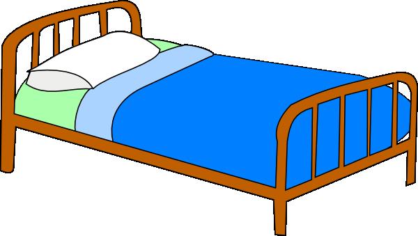 600x339 Colored Bed Clip Art