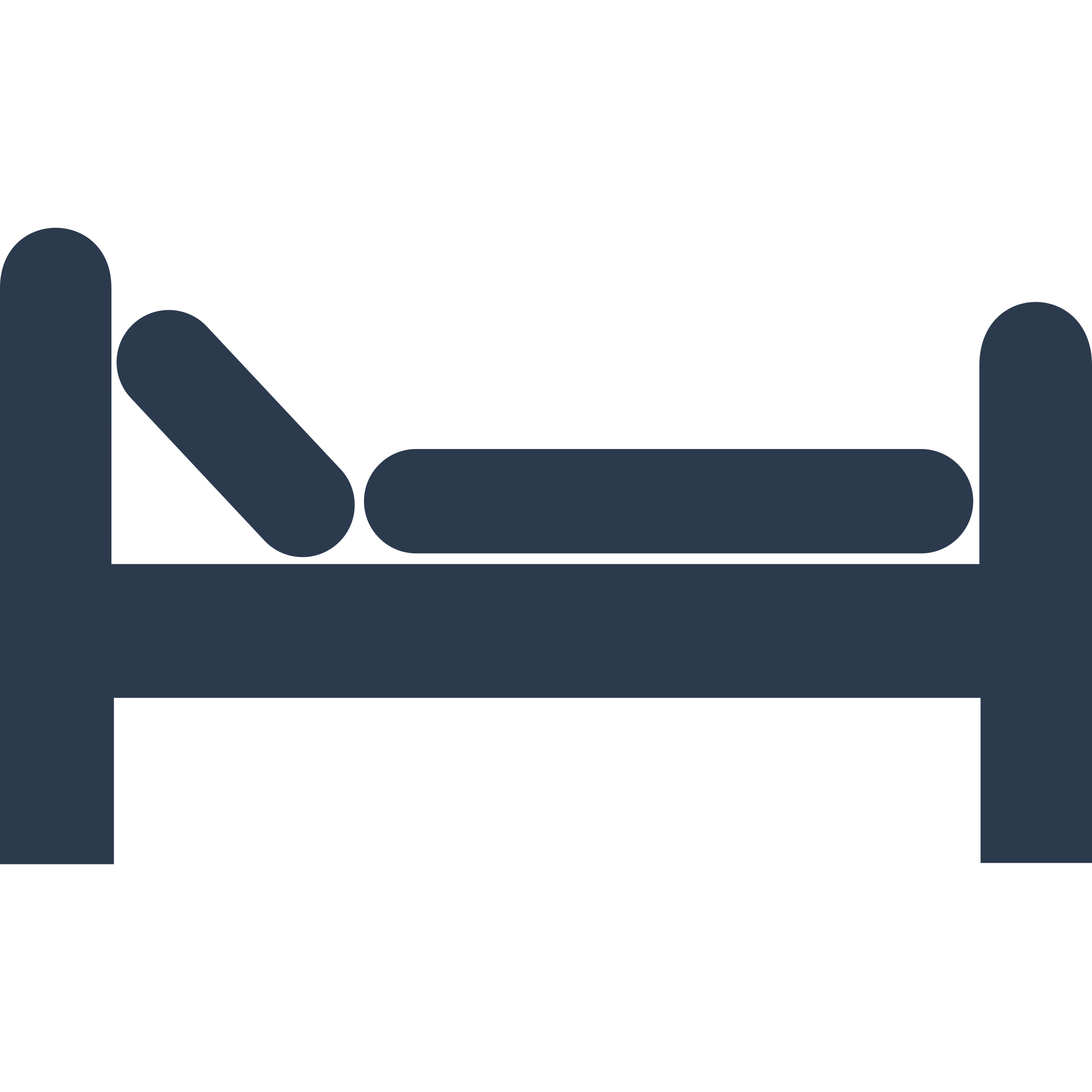 2400x2400 Free Clipart Simple Bed Image