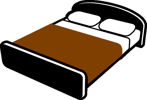600x408 Bed Clip Art