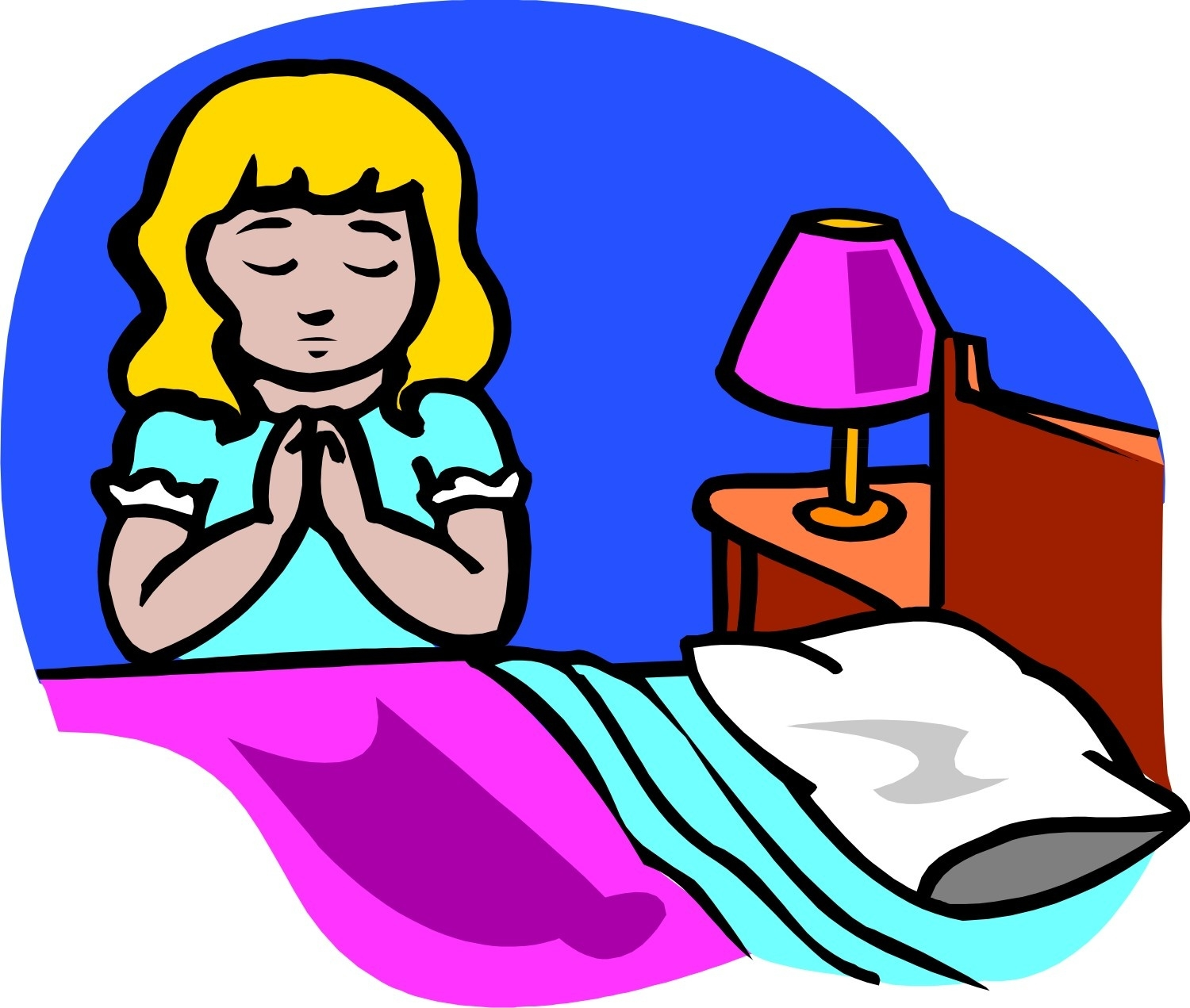 1500x1271 Bedtime Prayer Clipart Letters Example