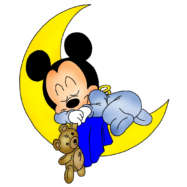 600x600 Disney Bed Time