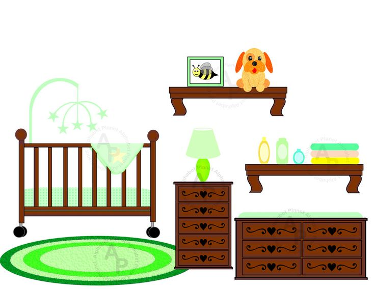 Bedroom Background Clipart