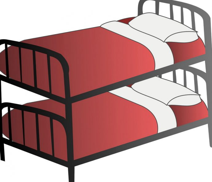 690x592 Bedroom Bunk Bed Clip Art Bunk Bed Free Clipart Bunk