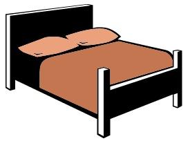 275x204 Bedroom Clipart